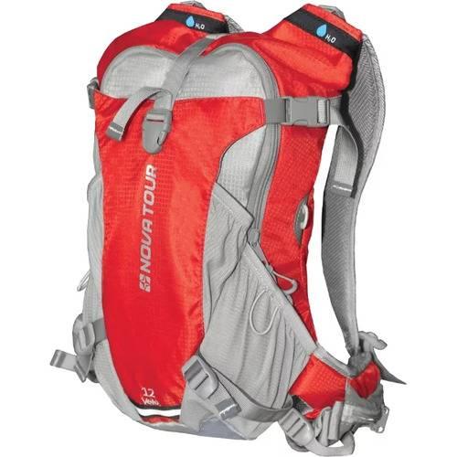 Рюкзак NOVA TOUR Вело 12 серый/красный